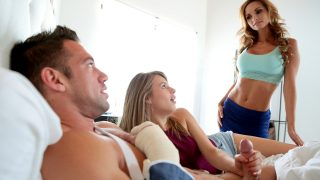 MILF Moms came to have sex with stepson